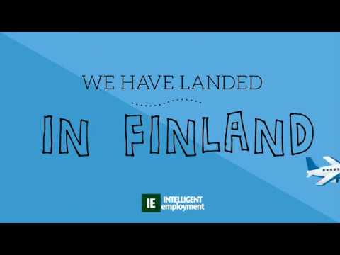 We have landed in Finland