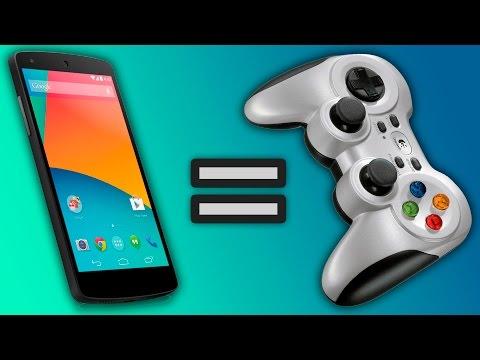 Как сделать из смартфона геймпад?