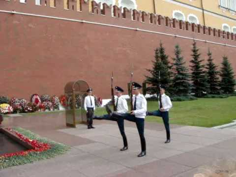 Changing of the Guards in Red Square
