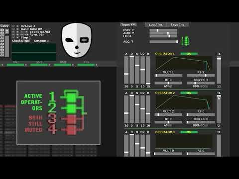 DefleMask Instrument Tutorial - Sega Genesis / Megadrive FM Sound (part 1 Of 3)