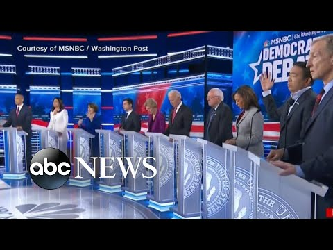 Moments that mattered from 5th Democratic debate l ABC News