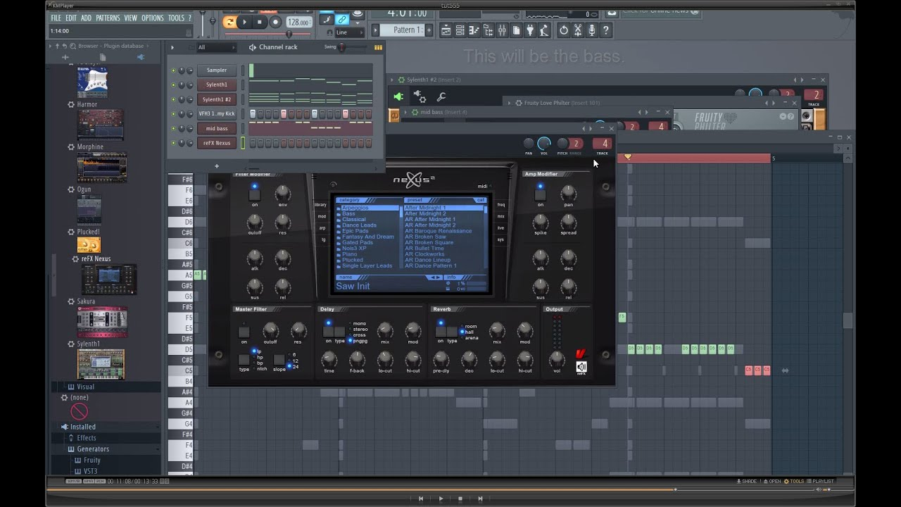 FL Studio 12 - How to create Epic EDM chords from a simple melody ...
