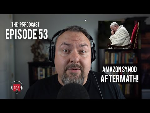 1P5 Podcast Ep 53 - Amazon Synod Aftermath: Good News & Bad News