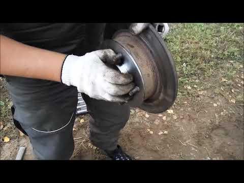Замена переднего шруса и ступицы на ниве. NIVA 4x4