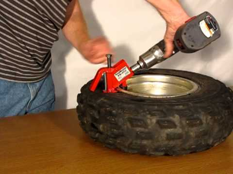 Bead Blaster Tire >> How to Break Tire Beads with the BeadBuster XB-450 - YouTube