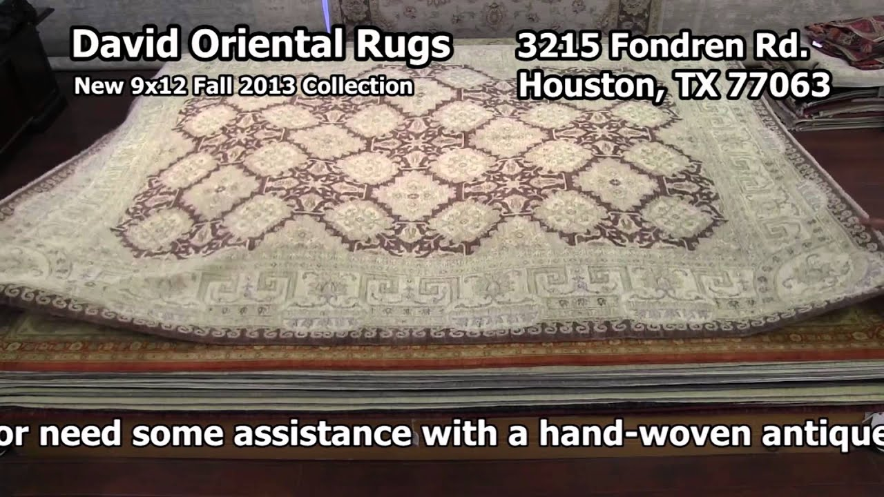 David Oriental Rugs Houston 9x12 Collection Part 1