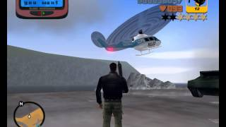 GTA III - Полицейский вертолёт (Police helicopter)(, 2013-08-04T00:48:03.000Z)