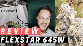 *FLEXSTAR REVIEW* 645W FULL SPECTRUM LED / Chinese Cannabis Growing Light Test - Savage Reviews