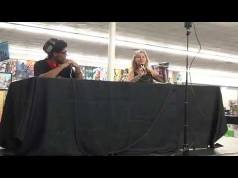 Veronica Taylor panel at Permian Basin Anime & Gaming Expo 2016
