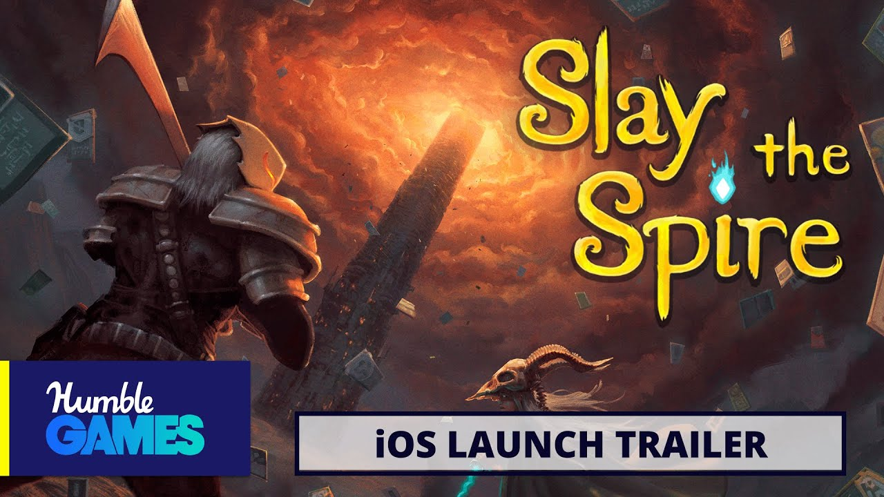 Slay the Spire | Roguelike Deckbuilder | iOS Launch Trailer