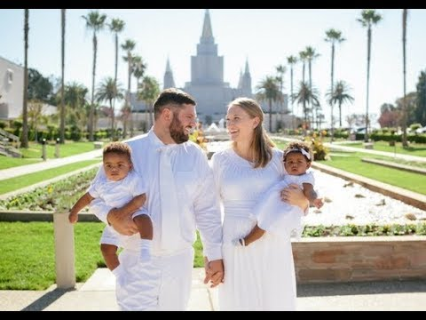 Forever Family | LDS Temple Sealing, Oakland Temple, Post Adoption Sealing