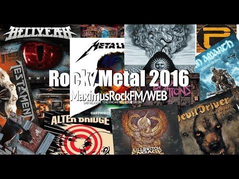 Discos Rock y Metal 2016