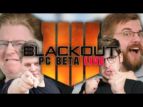 LIVE: Call Of Duty: BLACKOUT PC Beta