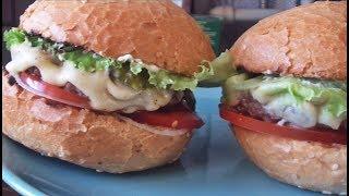 Как приготовить добротный, вкуснейший бургер в домашних условиях.