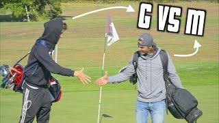 Garrett VS Micah 9 Hole Golf Match | GM GOLF