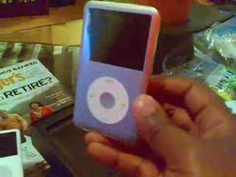 iPod Classic Unbox