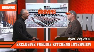 Freddie Kitchens Previews Seattle's Explosive Offense & Defense | Browns Countdown