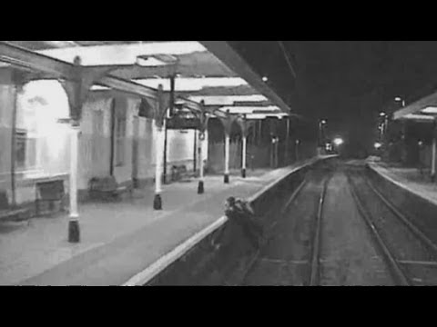 Terrifying CCTV: Commuters narrowly avoid getting hit by trains in National Rail campaign