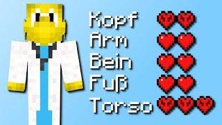 Neue Gesundheit in Minecraft! (First Aid Mod) [Deutsch]