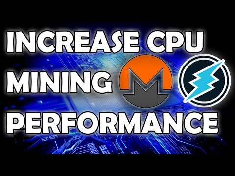 CPU Mining Performance Boost - XMRig Tweaks - Followup To Previous Video