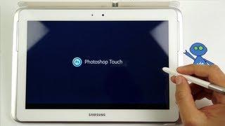 Photoshop Touch Tutorial Arabic - شرح تطبيق فوتوشوب تتش