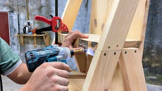 The Most Unique and Creative Woodworking Ideas You'll Ever See // Ladders, Chairs and Irons 3 in 1