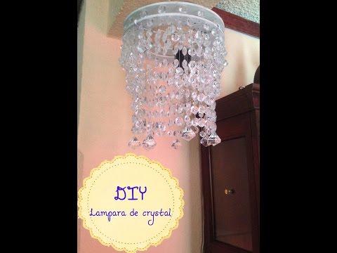 DIY :LAMPARA DE CRYSTAL♥
