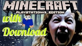 Minecraft PS3 PS4 Michael Myers Scary Map Download