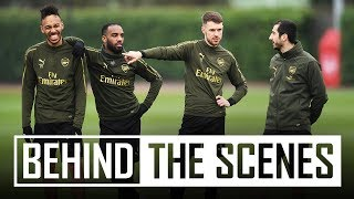 LACA ON FIRE! | The boys prepare for the north London derby