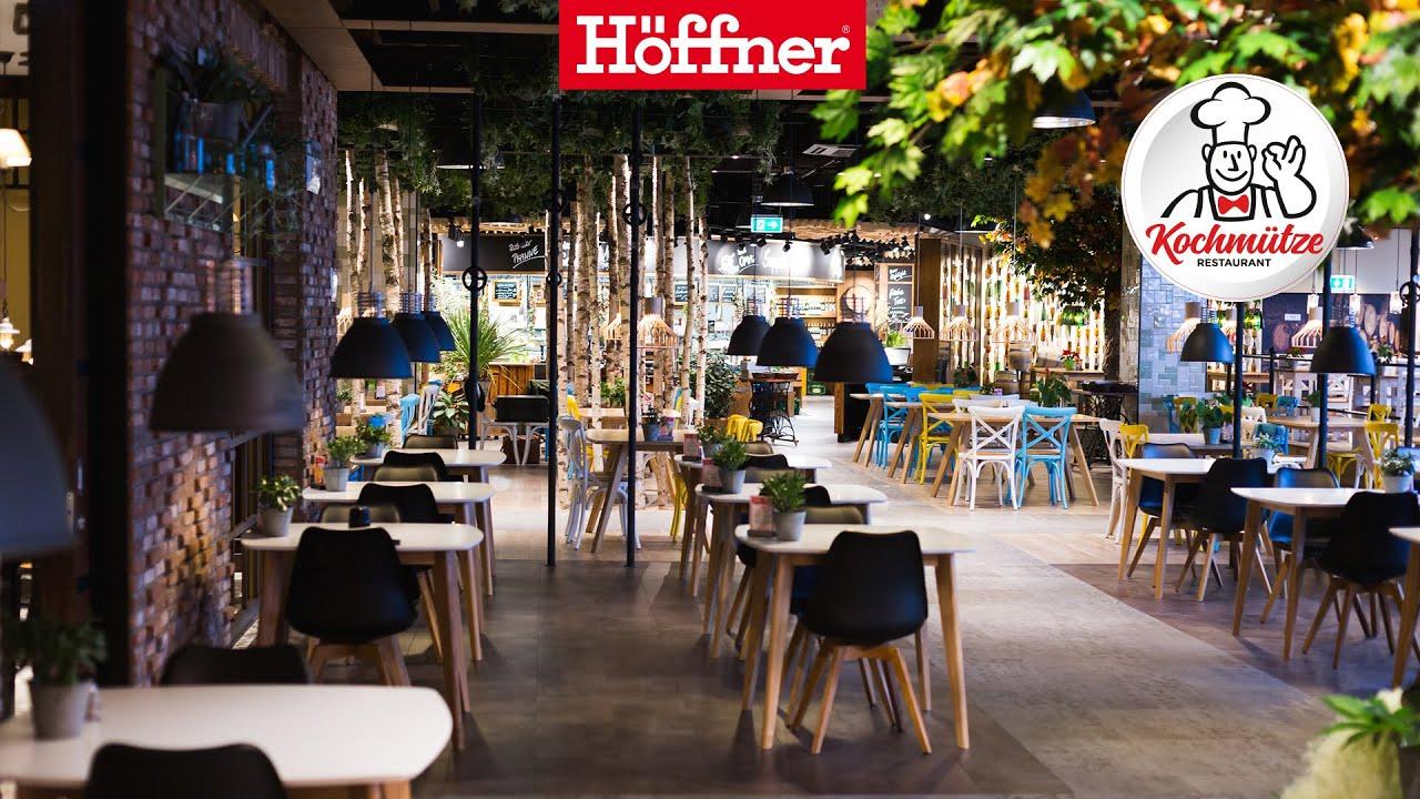 Kochmütze Restaurant Im Möbelhaus Höffner Youtube