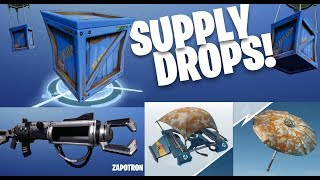 Fortnite - Battle Royale - exklusive Camo Skins / Supply Drops / Patch Notes