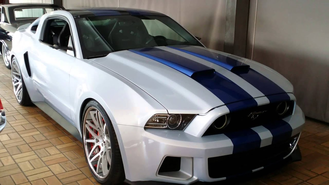 Ford Mustang From The Need For Speed Movie With Aaron Paul Youtube