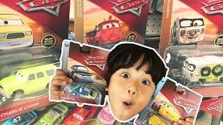 New Disney Cars 3 TOY HUNT at  TARGET 2018 Case F and Deluxe Diecast Thomas & Friends PJ Masks