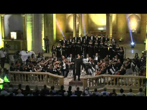 Concert of the symphony orchestra in Aleppo 12 July, 2017