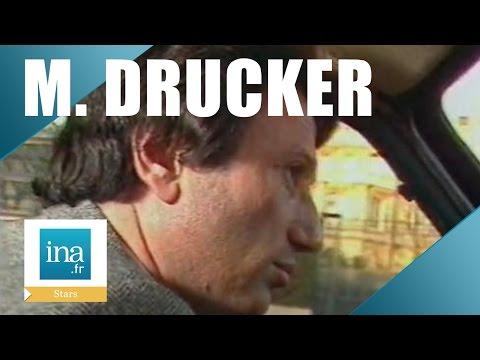 Une journée avec Michel Drucker dans les coulisses d'Europe 1 et de Champs Elysées    Archive INA