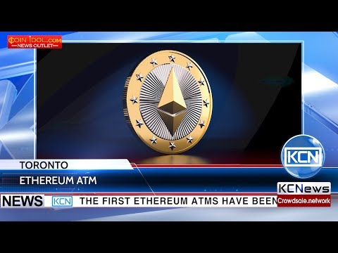 The First Ethereum ATMs In Toronto