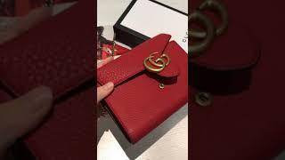 57cdbbd3629 Gucci Gg Marmont Matelassé Leather Mini Chain Camera Bag