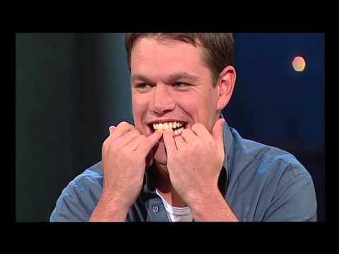 Matt Damon steals Rove's Logie | Interview (2002) | ROVE