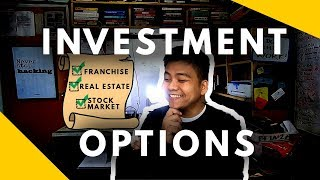 Franchise VS Real Estate VS Stock Market Best Investment - Businesses That Uses Money - Negosyo Tips