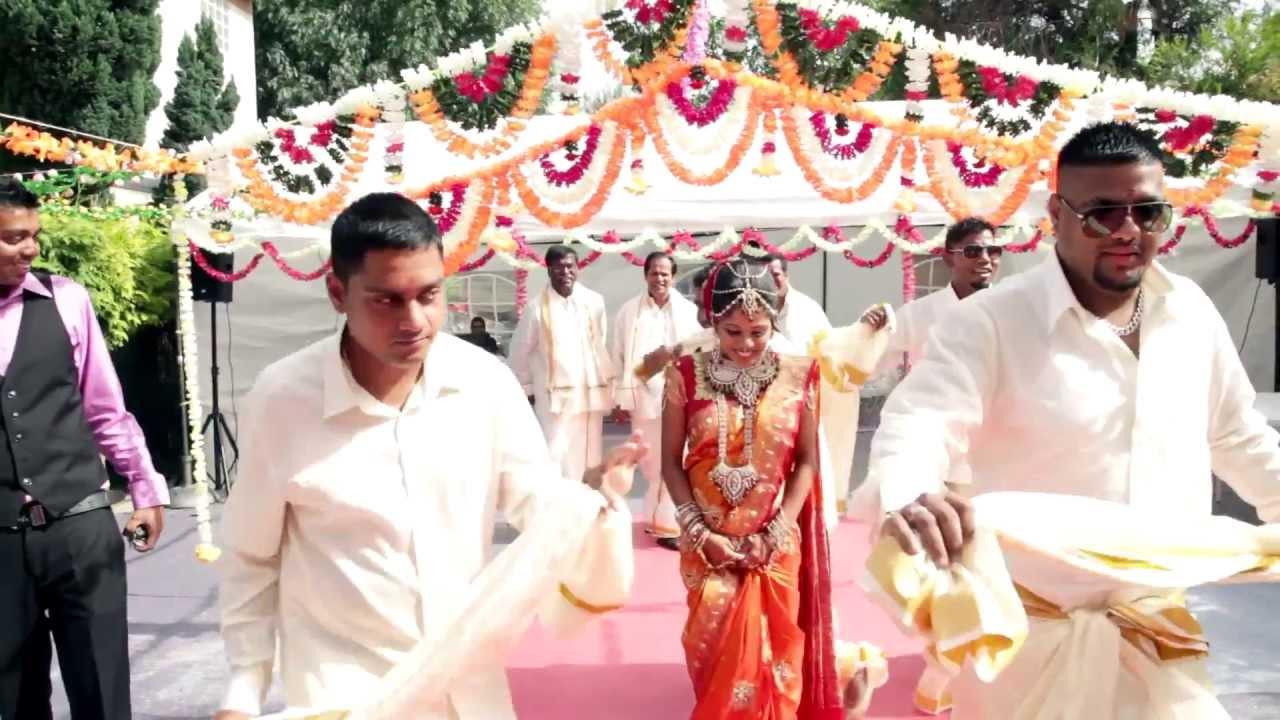 Paris Tamil Wedding Dance