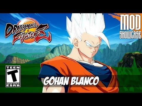 SUPER SAIYAN WHITE GOHAN (GOHAN BLANCO) | Dragon Ball FighterZ Mod [PC - HD]