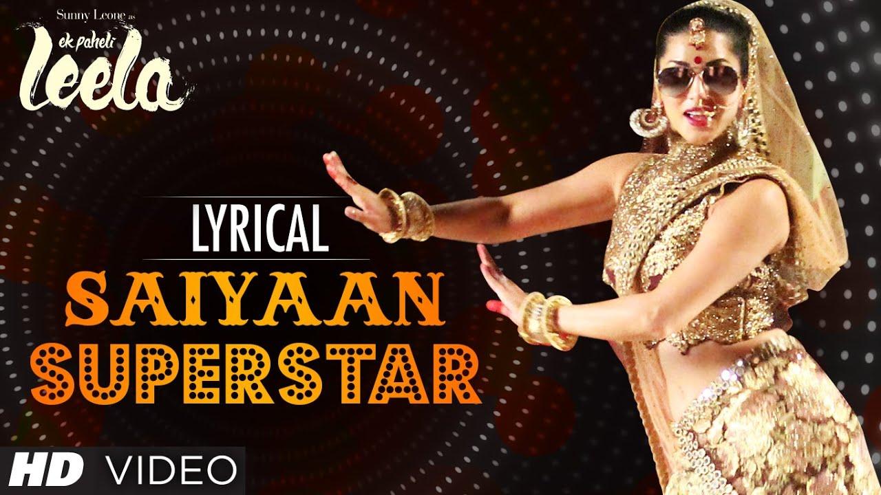 ... Song with Lyrics | Sunny Leone | Tulsi Kumar | Ek Paheli Leela
