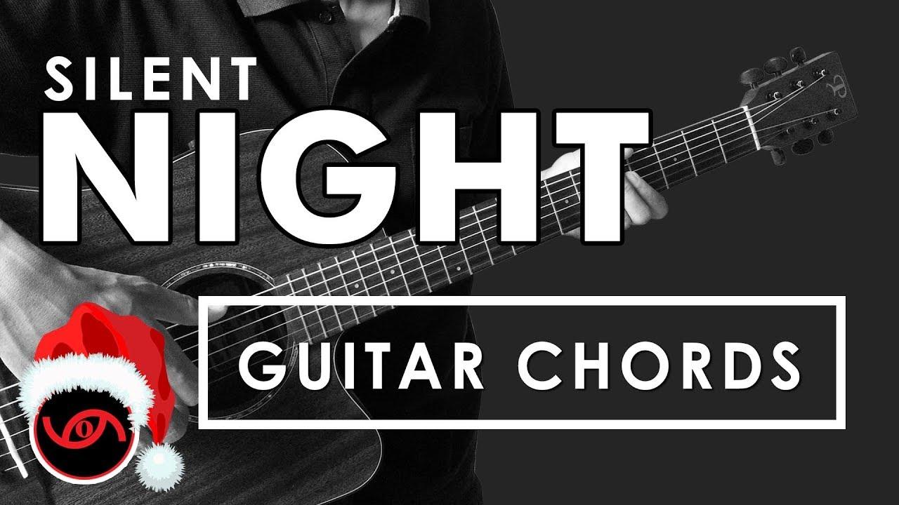 Silent Night Guitar CHORDS - YouTube