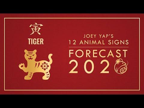2020 Animal Signs Forecast: TIGER [Joey Yap]
