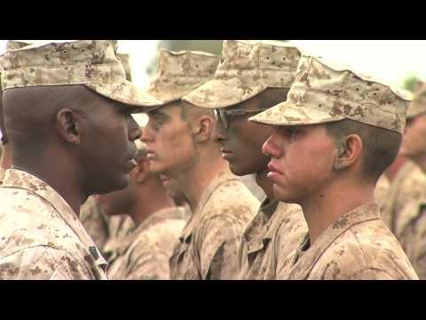 CBS 7 Marine Boot Camp, San Diego California, July 6th thru 10th -  Part 4