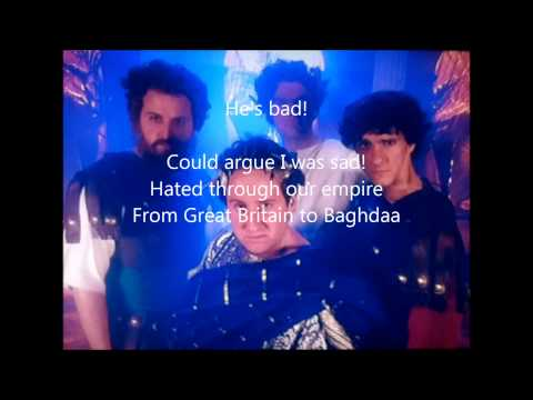 horrible histories who's bad lyrics
