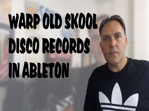 Warp Disco Vinyl Tracks for Accurate BPM - Ableton Live and Rekordbox
