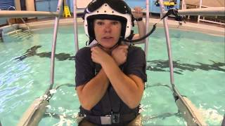 Helicopter Underwater Egress Training