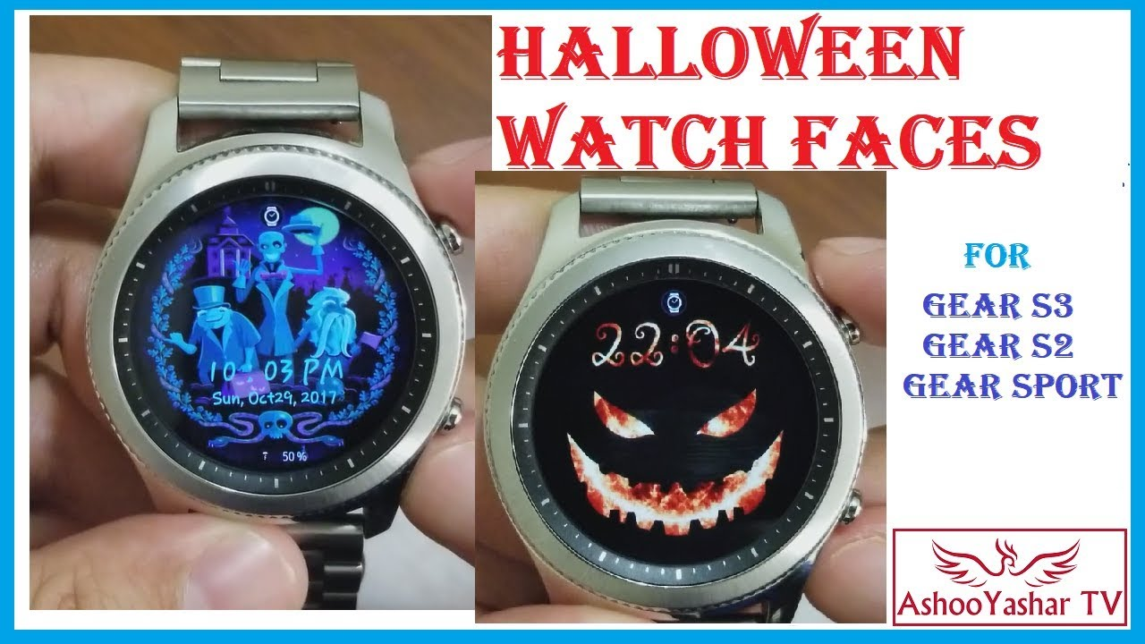 best gear s3 watch faces for halloween 2017 halloween faces for gear s3 gear sport
