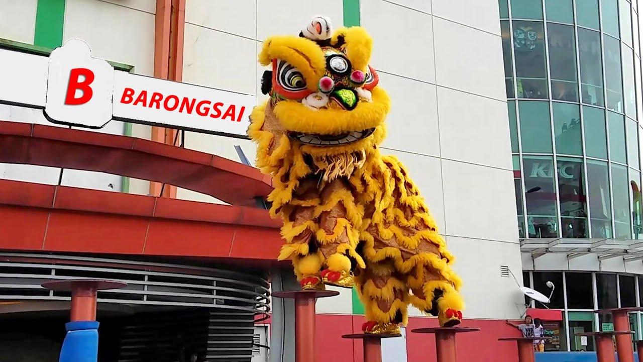 Barongsai - Lion Dance - Tamini Square - Jakarta - YouTube